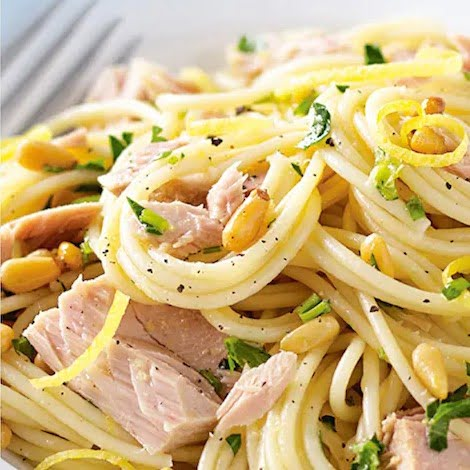 Shines Wild Irish Tuna and Pasta