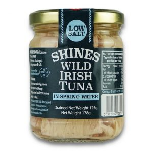Shines Wild Irish Tuna in Spring Water -185g