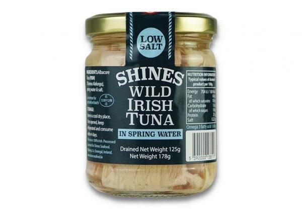 Shines Seafood Tuna Water Jar Product