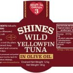Shines Wild Yellowfin Tuna in Olive Oil 185g