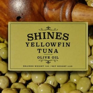 Shines Yellowfin Tuna in Olive Oil – 111g
