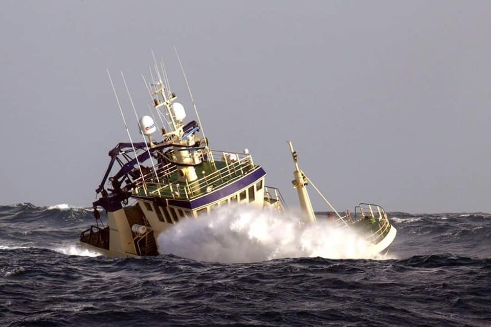 Carmona at sea