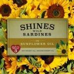 Shines Wild Sardines in Sunflower Oil -118g