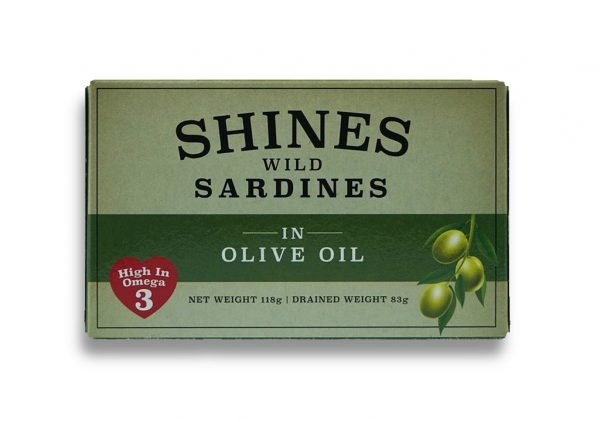 Shines Sardines in Olive Oil
