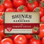 Shines Wild Sardines in Tomato Sauce -118g