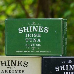 Shines Seafood Wild Irish Tuna in Olive Oil